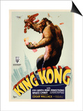 "Kong, 1933, ""King Kong"" Directed by Merian C. Cooper, Ernest B. Schoedsack Posters"