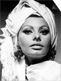 """Sophia Loren. """"Stanley Donen's Arabesque"""" 1966, """"Arabesque"""" Directed by Stanley Donen Prints"""