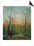 At the Edge of a Forest, about 1886 Print by Henri Rousseau