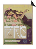Art Nouveau Cigarettes, Los Cigarillos Women Smoking, UK, 1920 Posters