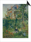 A Garden Nook at Bellevue, 1880 Posters by Edouard Manet