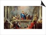 Pentecost Prints by Jean Restout
