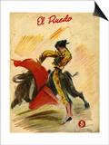 El Ruedo, Magazine Cover, Spain, 1954 Print