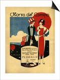 Floralia, Magazine Advertisement, Spain, 1919 Prints