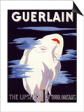 Guerlain, Guerlain Lipstick Make-Up, UK, 1938 Prints