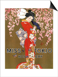 1920s USA Miss Tokio Magazine Advertisement Prints