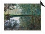 Coin D'Etang A Montgeron, 1876 Posters by Claude Monet