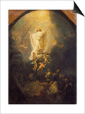 Ascension of Christ, 1636 Print by  Rembrandt van Rijn