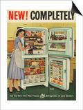 Stor-Mor, Magazine Advertisement, UK, 1950 Art