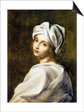 Portrait of Beatrice Cenci, Housed in the Galleria Nazionale d'Arte Antica, Rome Posters by Guido Reni