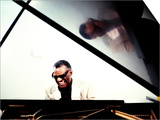 Ray Charles in the Studio at RPM International, Los Angeles Prints
