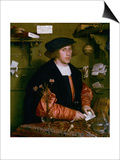Portrait of the Merchant George Gisze, 1532 Posters by Hans Holbein the Younger