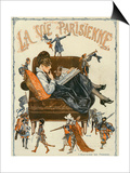 La Vie Parisienne, Magazine Cover, France, 1920 Prints