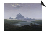 Felsenriff Am Meeresstrand, 1824 Posters by Caspar David Friedrich