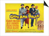 Guys And Dolls, 1955, Directed by Joseph L. Mankiewicz Art