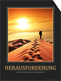 Herausforderung (German Translation) Posters