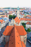 The Aerial View of Munich City Center Photo by  Gary718