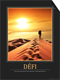 Defi (French Translation) Poster