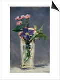 Ragged Robins and Clematis, c.1882 Print by Édouard Manet