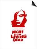 """Night of the Living Dead"" Directed by George A. Romero Posters"