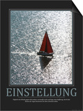 Einstellung (German Translation) Poster