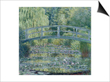 Water Lily Pond (Harmonie Verte), c.1899 Prints by Claude Monet