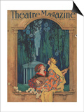 Theatre Magazine, Art Deco Magazine, USA, 1921 Prints