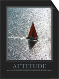 Attitude (French Translation) Kunstdrucke