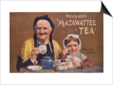Mazawattee, Tea, UK, 1890 Prints