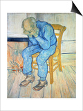 On the Threshold of Eternity (Old Man in Sorrow), 1890 Prints by Vincent van Gogh