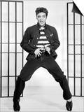 "Elvis Presley. ""Jailhouse Rock"" 1957, Directed by Richard Thorpe Poster"