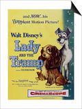 The Lady And the Tramp, 1955, Directed by Clyde Geronimi, Wilfred Jackson, Hamilton Luske Prints
