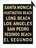 Los Angeles Sign II Posters