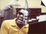Ray Charles in the Studio Prints