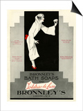 Bronnley's, Magazine Advertisement, UK, 1920 Art