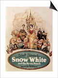Snow White And the Seven Dwarfs, 1937, Directed by Walt Disney Prints