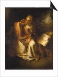 Annunciation Prints by  Rembrandt van Rijn