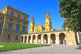 The Scenery at the Residenz and Odeonsplatz in Munich Photo by  Gary718