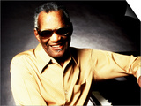 Ray Charles Portrait Art