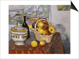 Still-Life with Tureen, c.1877 Prints by Paul Cézanne