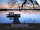 Besinnung (German Translation) Reprodukcje