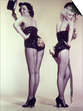 "Marilyn Monroe, Jane Russell ""Gentlemen Prefer Blondes"" 1953, Directed by Howard Hawks Poster"