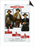 "The Good, the Bad And the Ugly, 1966, ""Il Buono, Il Brutto, Il Cattivo"" Directed by Sergio Leone Prints"