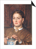 Honest Labour has a Comely Face Print by William Holman Hunt