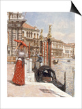 The Heat of the Day, Venice, 1892 Posters by James Charles