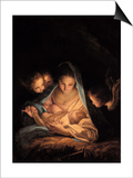 The Holy Night Posters by Carlo Maratta