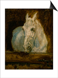 "The White Horse ""Gazelle"" Posters by Henri de Toulouse-Lautrec"
