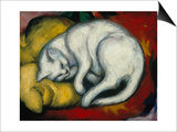 The White Cat, 1912 Posters by Franz Marc