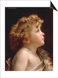 Young John the Baptist Prints by William Adolphe Bouguereau