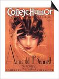 College Humour, Portraits Flappers Magazine, USA, 1910 Prints